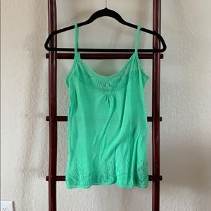 Buffalo David Bitton Green Knit Tank